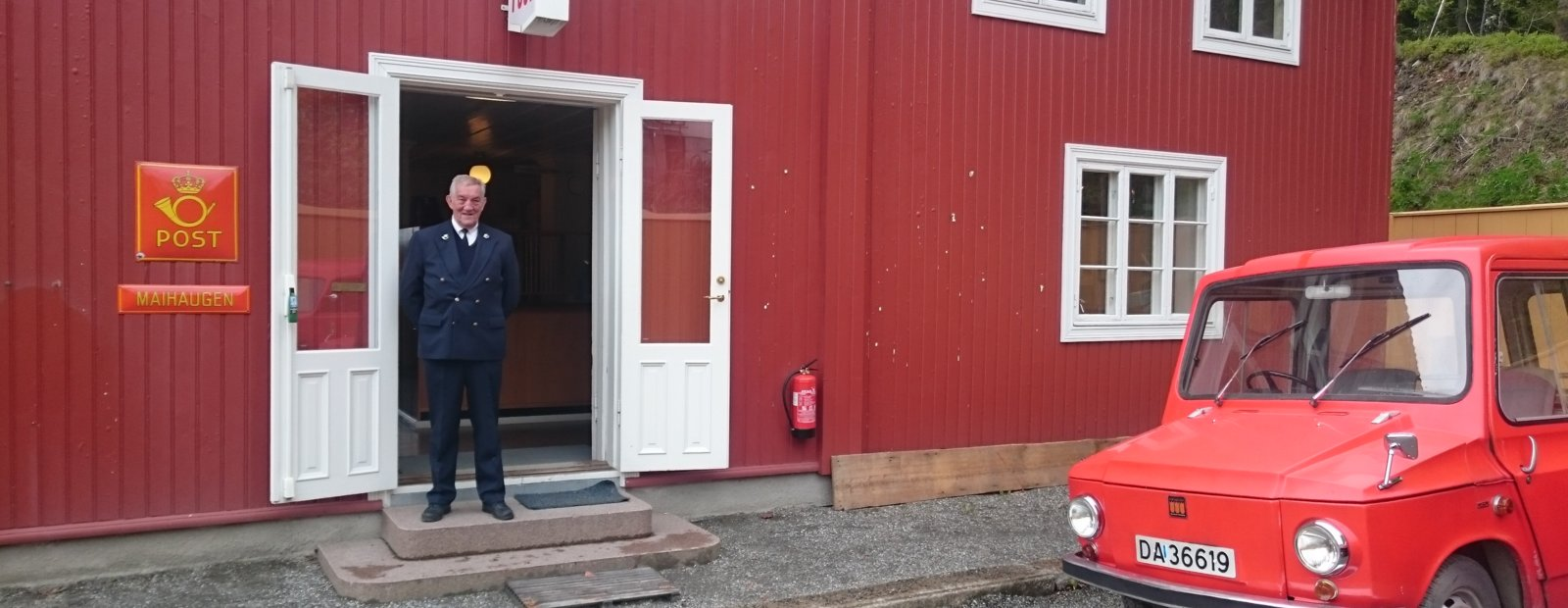 The Norwegian Post Museum, Maihaugen, Lillehammer, Meet the Postmaster