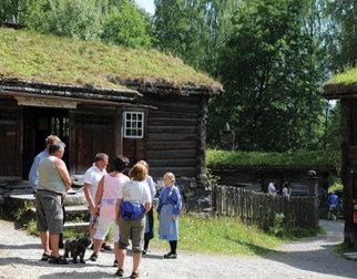 In the open-air museum at Maihaugen. Photo Espen Haakenstad